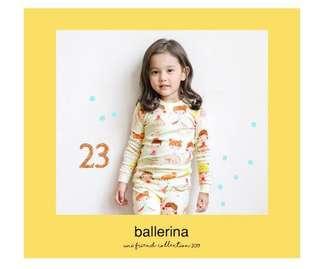 Unifriend little ballerina sleepwear