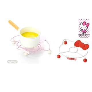 SANRIO POT STAND*METAL*SILICONE*MY MELODY*HELLO KITTY*ORIGINAL