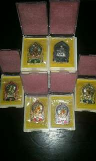 Thai amulet - wat lahanyai ( LP SIN ) Limited set