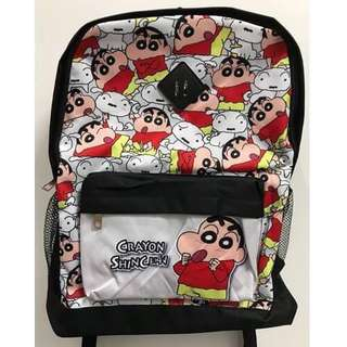 🚚 蠟筆小新CRAYON SHIN-CHAN野原新之助背包 書包 後背包