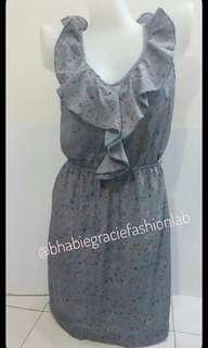 Delia's Blue Floral Mini Dress