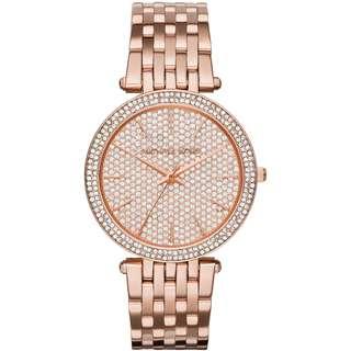 Michael Kors Darci Ladies Rose Gold Tone Watch MK3439 39mm