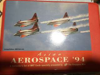 Asian Aerospace '94 Mrt Cards