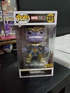 Funko Pop Marvel Infinity war Thanos on throne