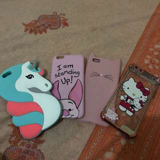 IPHONE 6+ CASING get all of these for 550 Php