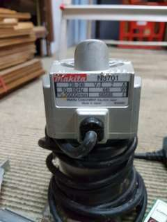 Makita brand electrical wood router/trimmer