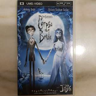 UMD VIDEO PSP COLLECTION- Corpse Bride