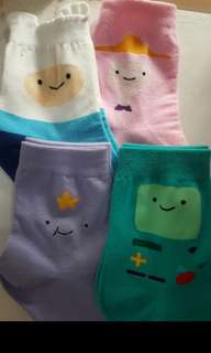 ICON SOCKS (Adventure Time, Star Wars, Panda, Toy Story)