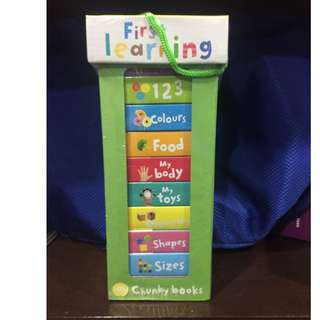 First Learning Tower Book