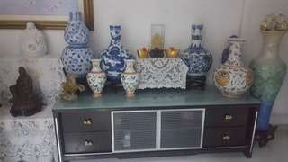 Antique porcelain vases (highest offer gets it)