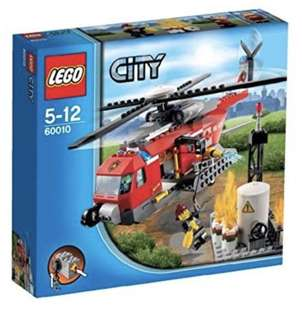 60010 Lego City Fire Helicopter BNIB