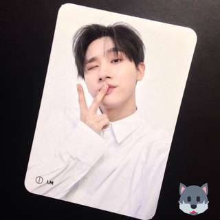 MONSTA X I.M VER 3 PHOTOCARD THE CONNECT PHOTOCARD