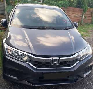SAMBUNG BAYAR/CONTINUE LOAN  HONDA CITY 1.5 VTEC YEAR 2017 MONTHLY RM 950 BALANCE 8 YEARS ROADTAX VALID PUSH START BUTTON NEW CONDITION  DP KLIK wasap.my/60133524312/city