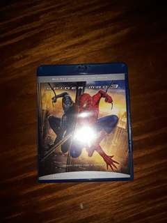 Spiderman 3 blu ray disc cd movie original blue