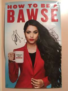 iiSuperwomanii How to be a Bawse signed poster