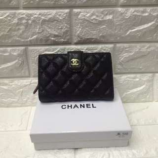 Chanel Caviar Wallet Medium