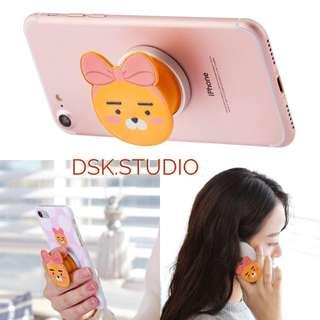 🚚 現貨!韓國代購 kakao ryan 萊恩 手機支架 蝴蝶結RYAN