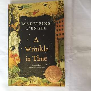 New: A Wrinkle In Time Book