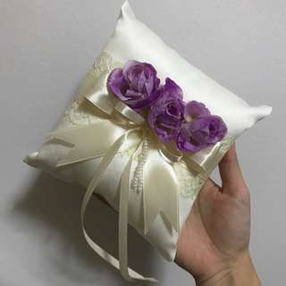 Wedding Rings' Bearer Pillow