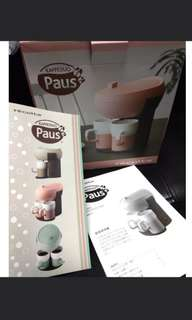 咖啡機 粉紅色 recolte KAFFEDUO Paus