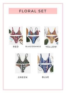 Trendy Patterned Bikinis