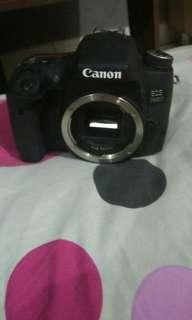 Kamera semi pro canon 760d plus lensa