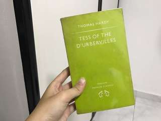 Teas of the d'urbervilles - Thomas hardy