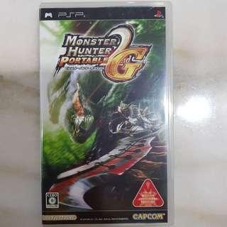 UMD PSP GAME- Monster Hunter Portable G