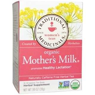 Traditional Medicinals - Organic Mother's Milk Tea Bags
