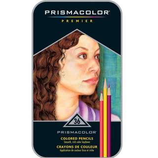 AUTHENTIC Prismacolor Premier 36 Colored Pencils Tin Set (Direct From USA)