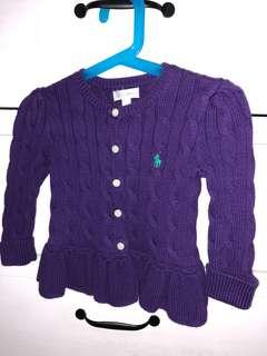 Ralph Lauren Peplum Knitwear