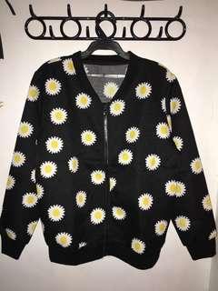 Sunflower bomber jacket