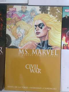 Comics Civil War Ms. Marvel