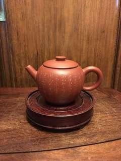 中國宜興-紫砂茶壼(巧英)