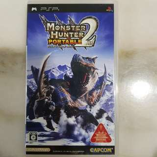 UMD PSP GAME- Monster Hunter Portable 2