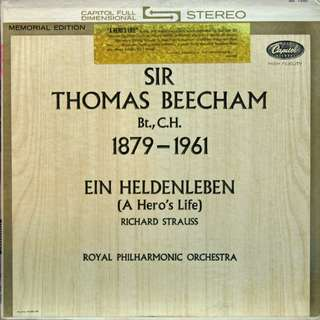 sir thomas beecham Vinyl LP used, 12-inch, may or may not have fine scratches, but playable. NO REFUND. Collect Bedok or The ADELPHI.