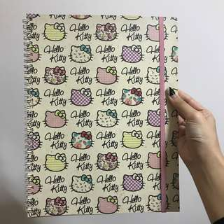 Hello Kitty Sanrio Notebook A4