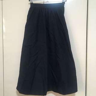 Navy blue skirt from GU