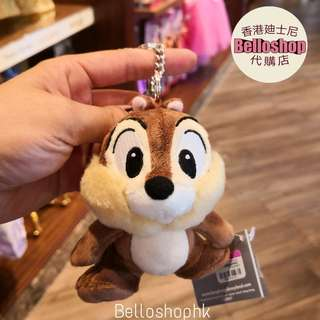 [Belloshop]香港廸士尼Chip And Dale Keychain