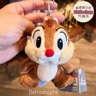 [Belloshop]香港廸士尼Chip And Dale 匙扣