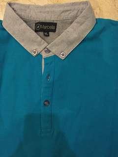 Kaos Polo Kerah Kancing size XL