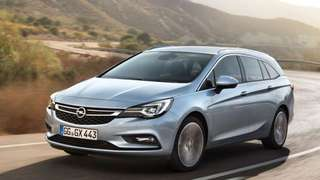 Superb new Opel Astra K Tourer 1.0 Turbo for long term lease