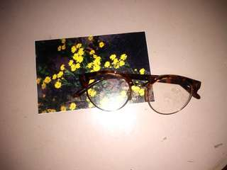 Metro Sunnies Leopard Eye Glasses
