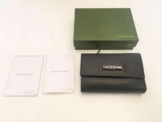 Lonchamp Roseau Compact Wallet