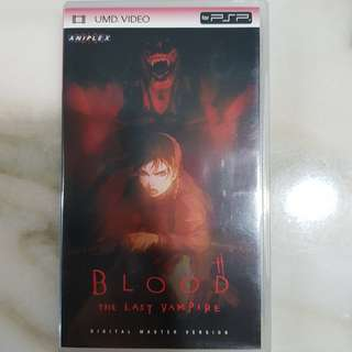 UMD VIDEO PSP COLLECTION- Blood The Last Vampire