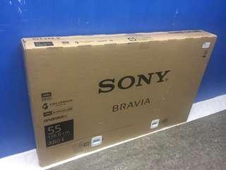 """Sony 4K 55"""" LED Smart TV (Brand New) 2 Year Warranty FIX PRICE"""