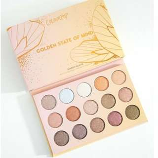 Authentic & Ready Stock Colourpop Golden State of Mind Eyeshadow Palette