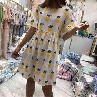 🚚 鳳梨洋裝