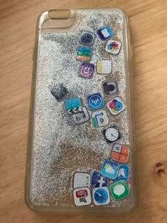 iphone6流沙apps手機殼(包平郵)