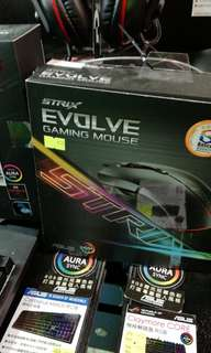 asus rog strix evolve 電競滑鼠